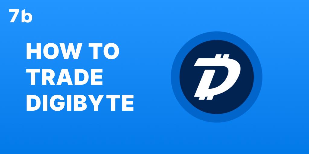 How to trade digibyte