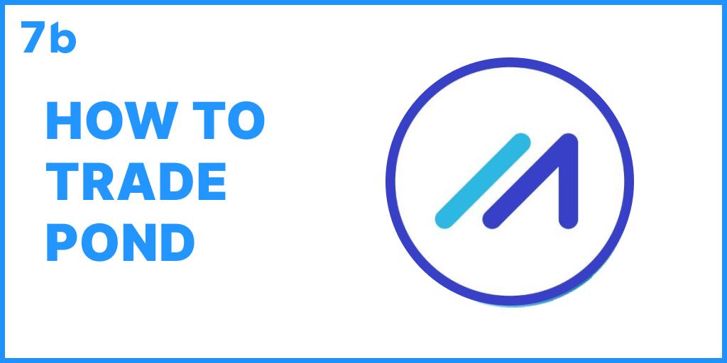 How to trade POND?