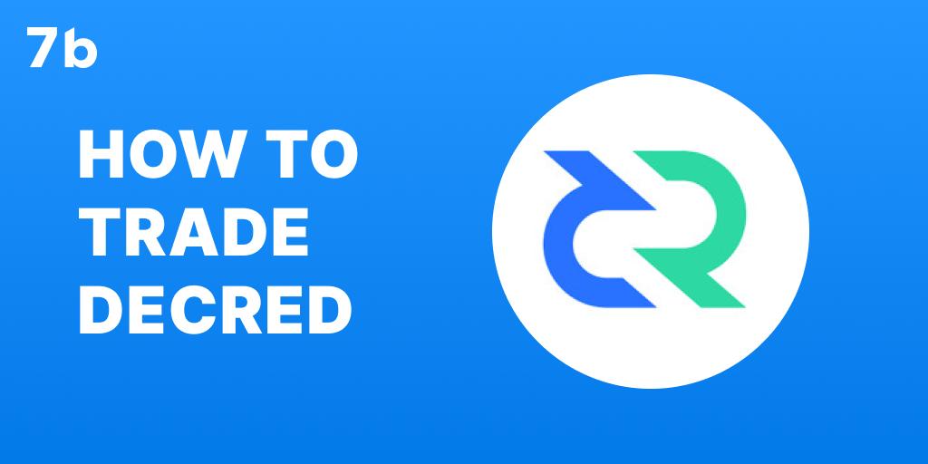 How to trade DCR